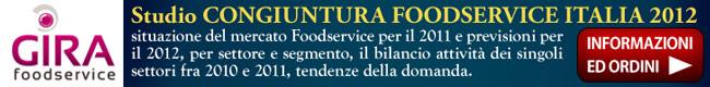 Ricerca di Mercato Studio Gira Congiuntura Foodservice 2012 Italia Ristorazione Distribuzione GDO