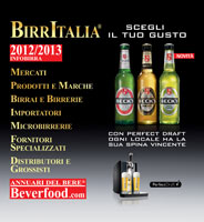 Copertina Annuario Infobirra Birre 2008 – 2009 beverfood