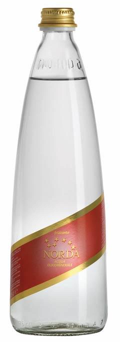 Bottiglia Edizione Natalizia Elegance Acqua Minerale Norda