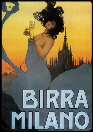Etichetta Storica Birra Milano