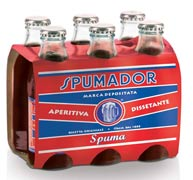 6x bottigliette bibite spumadoraperitivo analcolico