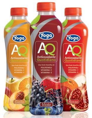Nuovi Succhi Yoga AQ Antiossidante Quotidiano gusri Giallo – rosso - viola immagine grande