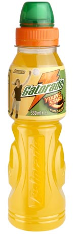Confezione Bottiglia Pet Stort Drink integratore idrosalino Gatorade Young Star Gusto Arancia ragazza