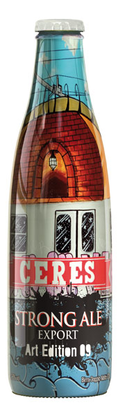 Nuova Bottiglia Art Edition Birra Doppio Malto Ceres Strong Ale