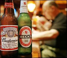 Bottiglie Beck's Budweiser