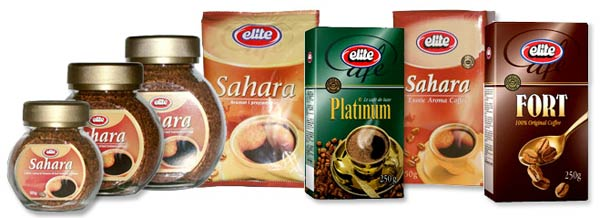 Confezioni Marchi Gruppo Strauss Caffè Elite Sahara