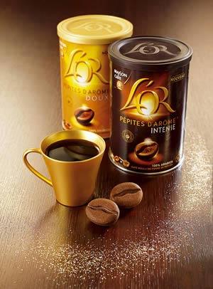 confezioni barattoli caffè sara lee L'Or–pépite d'arôme de Maison du Cafè