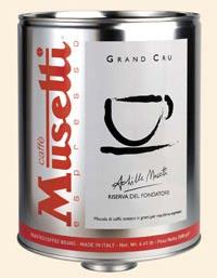Musetti Barattolone caffè Gran Cru