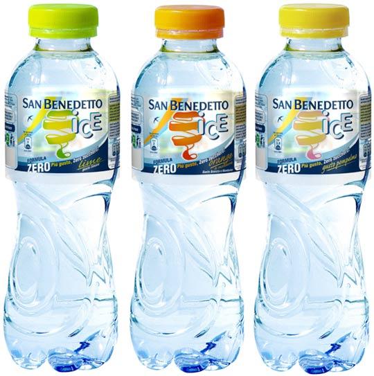 San Benedetto Ice Formula Zero Fardello Acqua Aromatizzata gusti Lime, Orange, Pompelmo