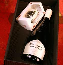 Le Baladin Birra Artigianale Confezione Natale Super500 con Modellino Fiat 500