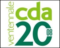 Logo Consorzio Distributori Alimentari CDA Ventennale