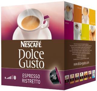 Confezione Prezzo Capsule Caffè nescafé Dolce Gusto Nestlé espresso Ristretto Cialde