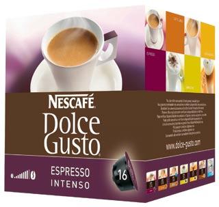 Confezione Prezzo Capsule Caffè Dolce Gusto Nestlé Nescafè Espresso Intenso Cialde