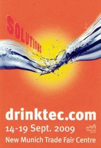 Drinktec fiera settembre imbottigliamento imballaggio Monaco di Baviera