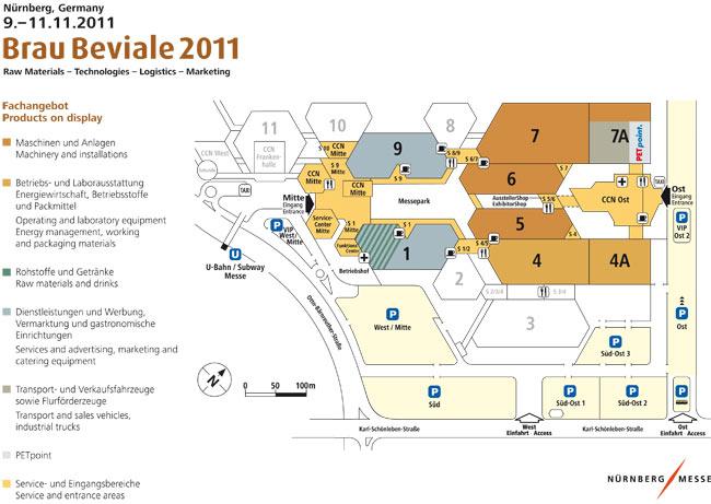 Brau2011_planimetria generale