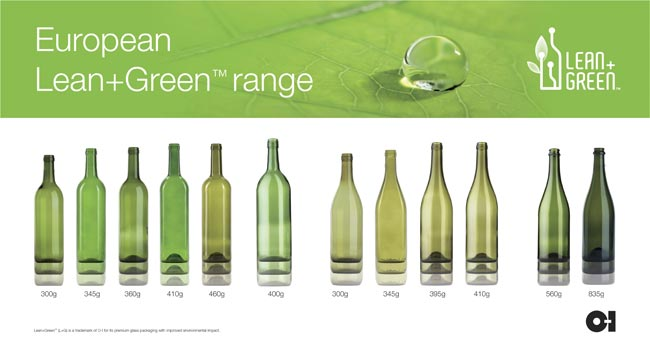 LEAN&GREEN  Vetro bottiglie nuova gamma