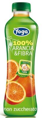 Yoga 100% frutta  & Fibra gusto arancia