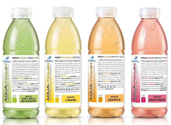 aquavitamin san benedetto acqua vitaminizzata bibita funzionale