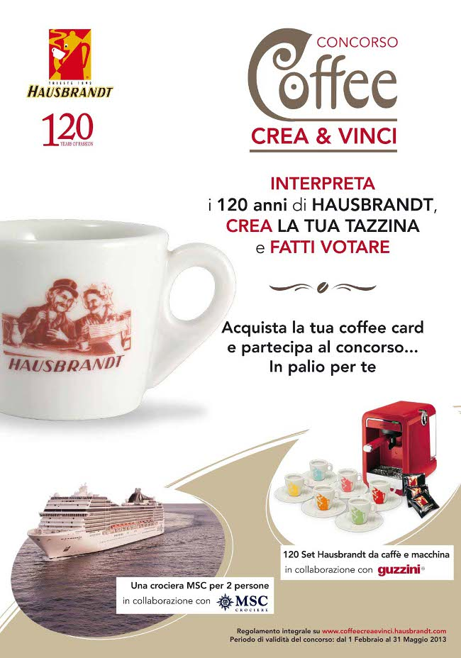 Hausbrandt_Coffee_Crea&Vinci_2013